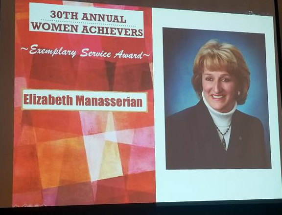 Elizabeth Manasserian and Camille Levee Honored at 30th Annual Women Achievers Luncheon