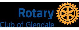 Glendale Rotary Noon Logo